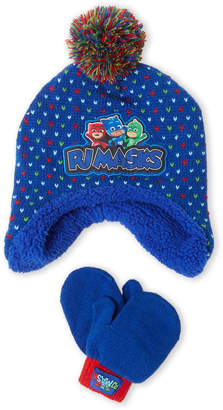American Boy   Girl (Toddler Boys) PJ Masks Hat   Mittens Set d26ec467607