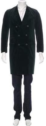Haider Ackermann Corduroy Double-Breasted Coat