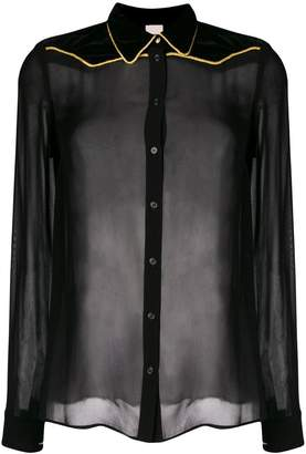 Pinko contrasting trimmed shirt