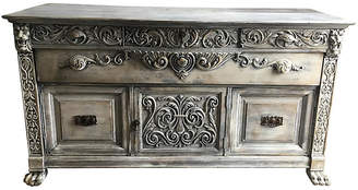One Kings Lane Vintage French Carved Oak Sideboard - Collections77