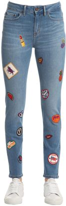Skinny Fit Denim Jeans Gigi Hadid $225 thestylecure.com