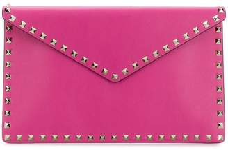 Valentino Rockstud envelope clutch