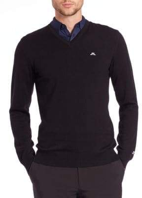 J. Lindeberg Golf Lymann V-Neck Sweater