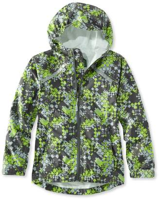 L.L. Bean L.L.Bean Kids' Trail Model Rain Jacket, Print