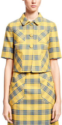 Brooks Brothers by Zac Posen Plaid Jacket