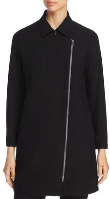 Eileen Fisher Asymmetric Zip Jacket