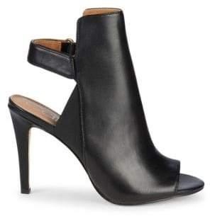 ff3d86a6b1c Calvin Klein Sandria Leather High-Heel Slingback Sandals