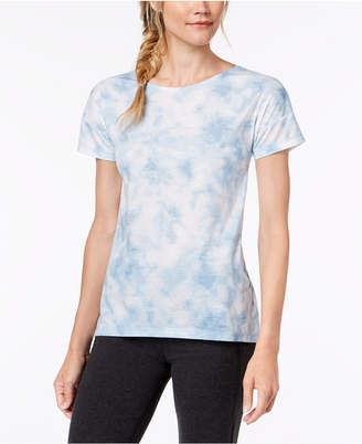 Ideology Tie-Dyed Cutout-Back T-Shirt