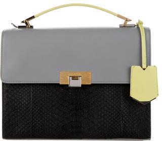 Balenciaga Balenciaga Python Le Dix Cartable S Bag