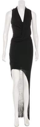Helmut Lang Asymmetrical Sleeveless Dress w/ Tags