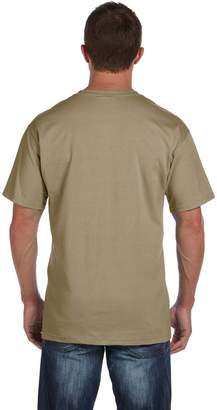 Fruit of the Loom Adult 5 oz HD Cotton Pocket T-Shirt - XL - (Style # 3931P - Original Label)