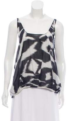 Hache Sleeveless Printed Top