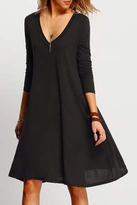 Atelier House Of Black V-Neck Dress