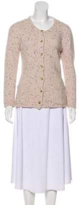 Malo Cashmere Knit Cardigan Beige Cashmere Knit Cardigan