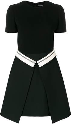 Alexander McQueen flap panel dress