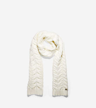 Cole Haan Lofty Cable Muffler Scarf
