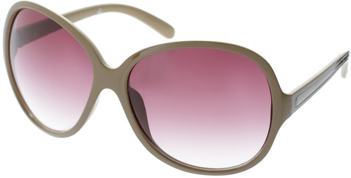 ASOS Oversized Matte Finish Sunglasses