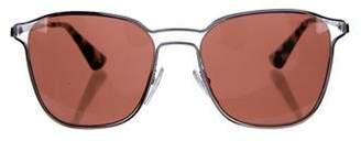 Prada Oversize Metal Sunglasses