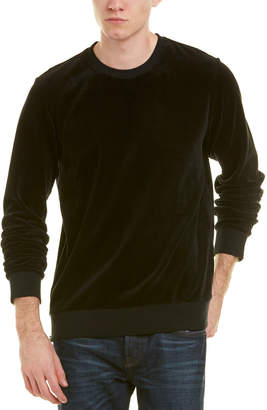 Vince Velvet Crewneck Sweater
