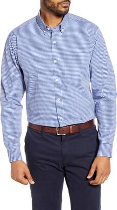 Cutter & Buck Anchor Classic Fit Gingham Shirt