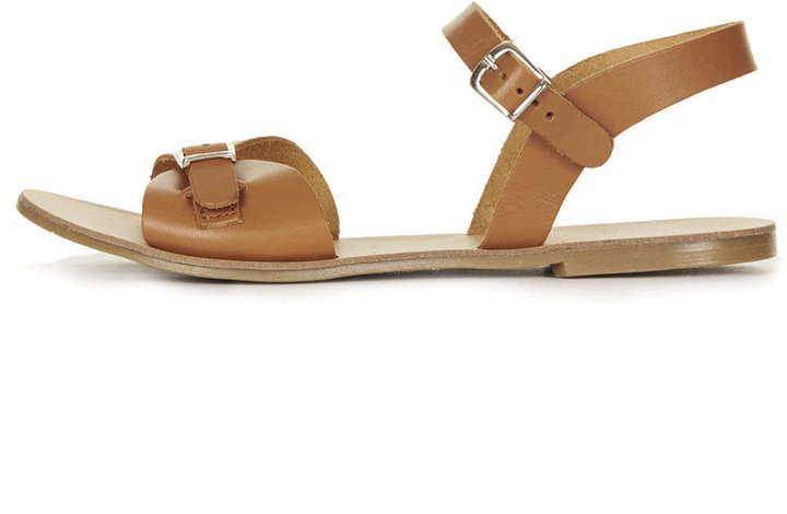 Topshop HELTER 2Part Geek Sandals