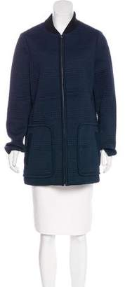 Tory Burch Quilted Short Coat