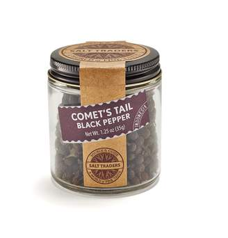 Salt Traders Comet's Tail Black Pepper