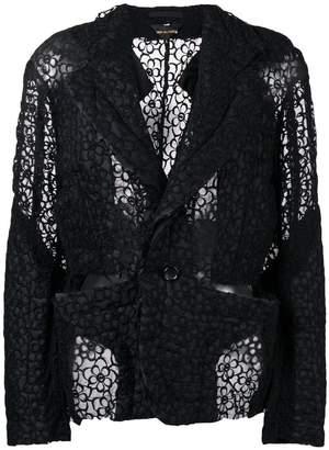 Comme des Garcons floral lace jacket