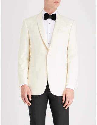 Richard James Single-breasted wool tuxedo jacket