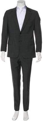 Prada Striped Virgin Wool Suit