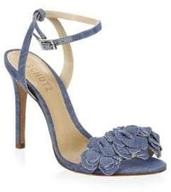 Schutz Aida Ankle-Strap Sandals