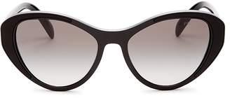 Prada Cat Eye Sunglasses, 55mm