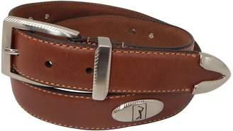 Equipment Pga Tour Men's PGA Tour Etched-Accent Leather Golf Belt
