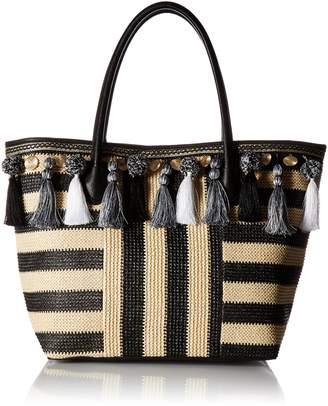 Aldo Taurano Tote Bag, Black / White