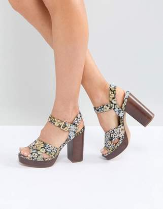 Asos TIA Casual Platform Sandals
