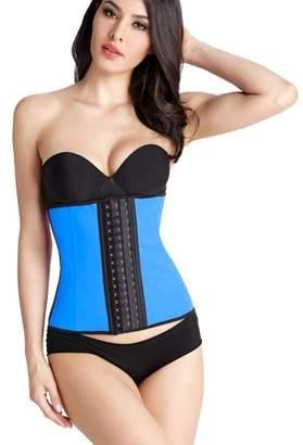 Hourglass Coolslm Women's Brazilian Insta Slimming Waist Cincher Corset Tummy Tuck - Breathable Neoprene Cincher Full Cincher - Plus Size(Blue, XXXL)