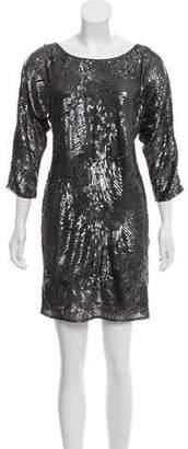 Trina Turk Sequin Embellished Mini Dress w/ Tags