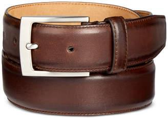 Tasso Elba Men's Feather-Edge Leather Dress Belt