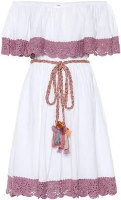Anna Kosturova Casablanca crochet cotton dress
