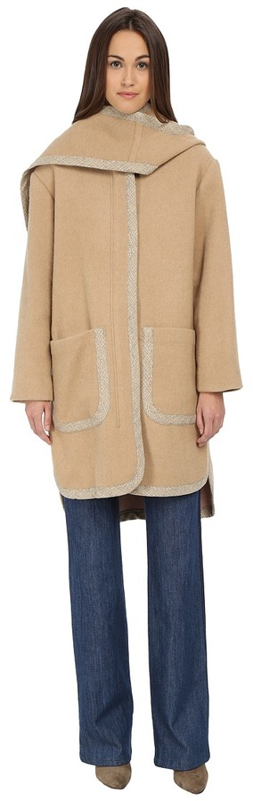 See By Chloe See by Chloe Double Face Hood Coat