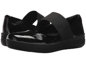 FitFlop F-Sporty Elastic Mary Jane Women's Maryjane Shoes