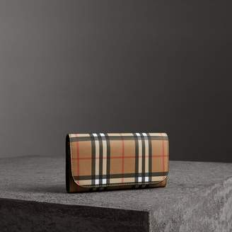 Burberry Vintage Check Continental Wallet and Pouch