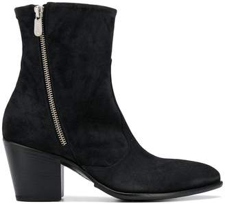 Rocco P. suede ankle boots