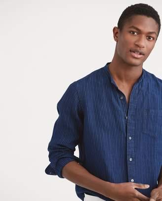 Ralph Lauren Classic Fit Indigo Linen Shirt