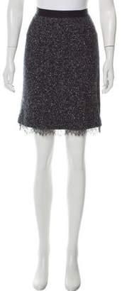 Rebecca Taylor Bouclé Mini Skirt