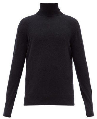 Raey Roll Neck Cashmere Sweater - Mens - Navy
