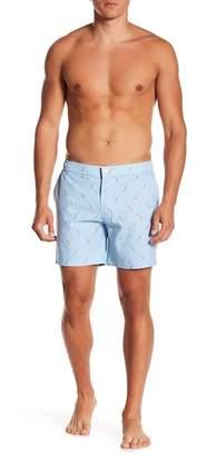 Trunks Mosmann Australia Ice Cream Print Tailor Made Swim Shorts