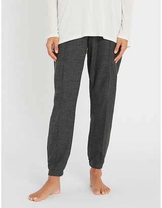 Hanro Urban Casuals wool-blend jogging bottoms