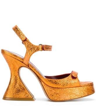 Sies Marjan sculpted heel platform sandals