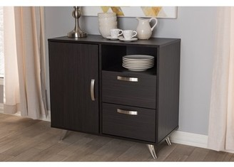 Baxton Studio Warwick Modern and Contemporary Espresso Brown Finished Wood Sideboard